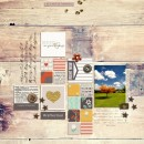 reflect on your blessings layout by margelz using Reflection kit by Sahlin Studio
