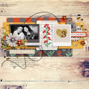 thankful layout by raquels using Reflection kit by Sahlin Studio