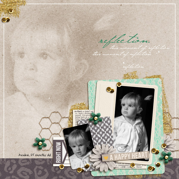 reflection right now layout by yzerbear19 using Reflection kit by Sahlin Studio