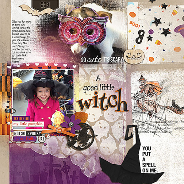 a good little witch page by HeatherPrins using Project Mouse: Halloween Edition by Sahlin Studio & Britt-ish Designs