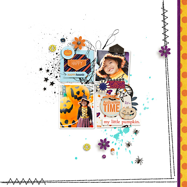 halloween page by kewl_jive using Project Mouse: Halloween Edition by Sahlin Studio and Britt-ish Designs