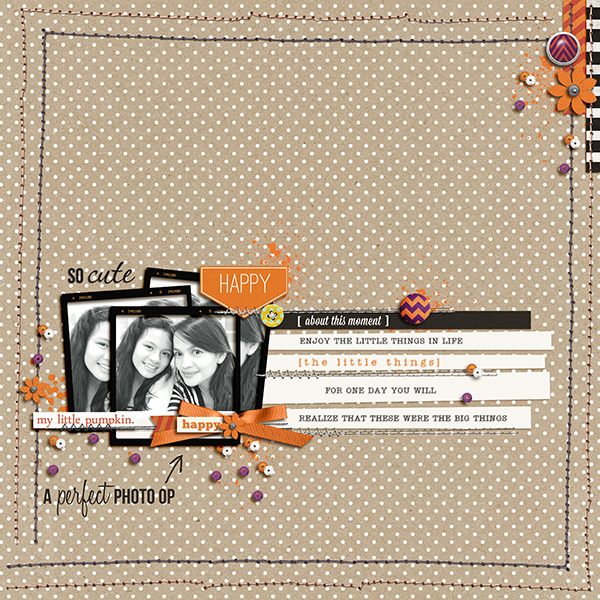 perfect photo op page by margelz using Project Mouse: Halloween Edition by Sahlin Studio & Britt-ish Designs