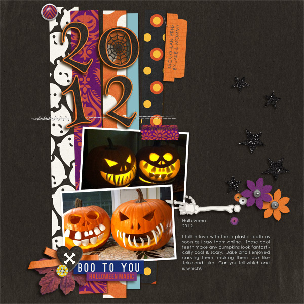 halloween page by mikinenn using Project Mouse: Halloween Edition by Sahlin Studio and Britt-ish Designs