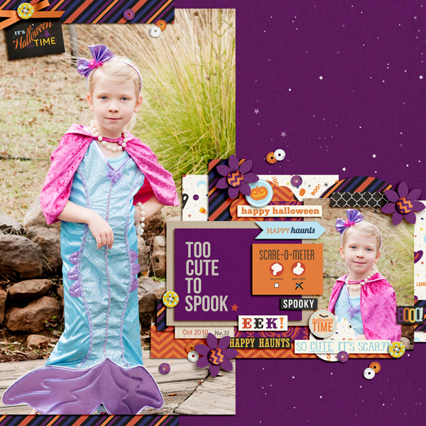 halloween costume page by pne123 using Project Mouse: Halloween Edition by Sahlin Studio & Britt-ish Designs