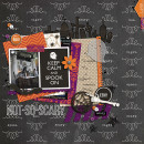 halloween page by sucali using Project Mouse: Halloween Edition by Sahlin Studio & Britt-ish Designs