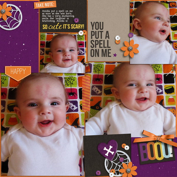 so cute page by yzerbear19 using Project Mouse: Halloween Edition by Sahlin Studio & Britt-ish Designs