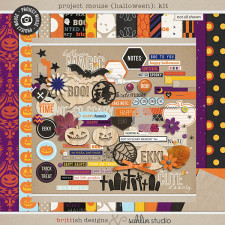 Project Mouse (Halloween): Kit by Britt-ish Designs and Sahlin Studio