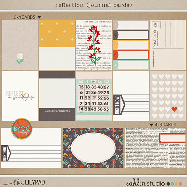 September 14 Featured Product Journal Cards Sahlin Studio