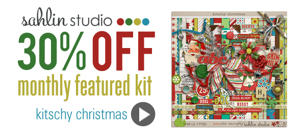 Kitschy Christmas by Sahlin Studio and Jenn Barrette