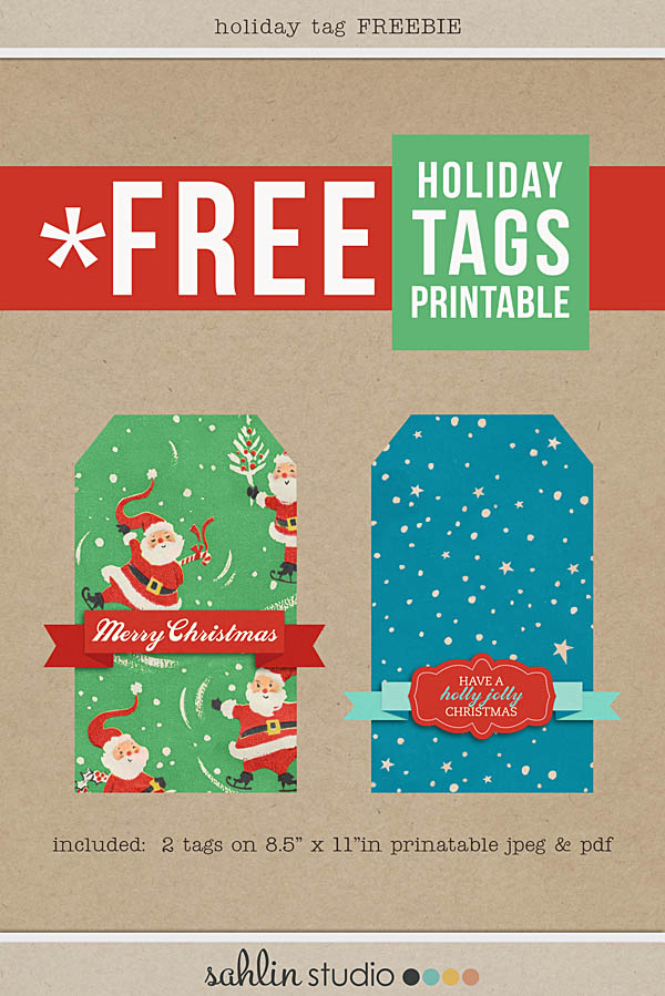 holiday tag freebie by sahlin studio