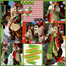 Christmas project life layout by Pooh46 using Project Mouse: Christmas by Britt-ish Designs & Sahlin Studio