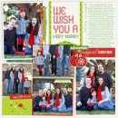 Christmas layout by fonnetta using Project Mouse: Christmas by Britt-ish Designs & Sahlin Studio