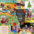 Christmas layout by kelsy using Project Mouse: Christmas by Britt-ish Designs & Sahlin Studio