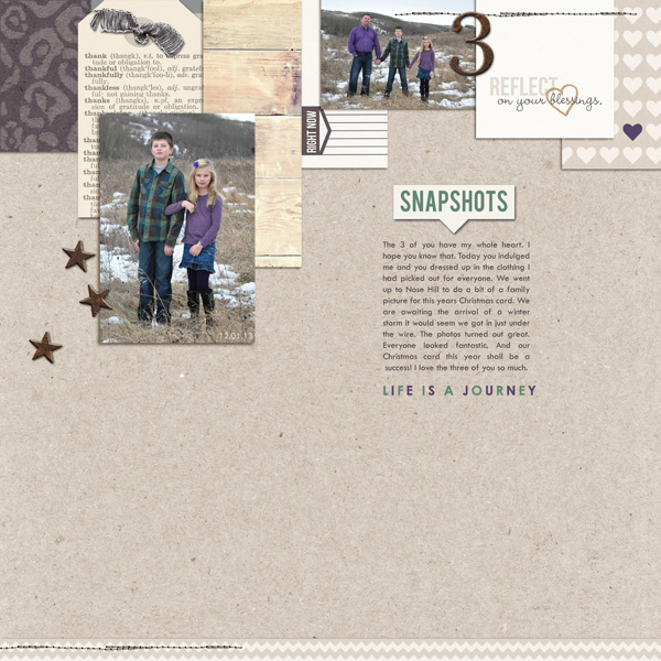 everyday layout created by ctmm4 featuring the December 2013 FREE Template by Sahlin Studio
