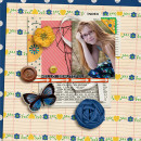 wonderful layout created by kristasahlin featuring A Wonderful Day by Sahlin Studio