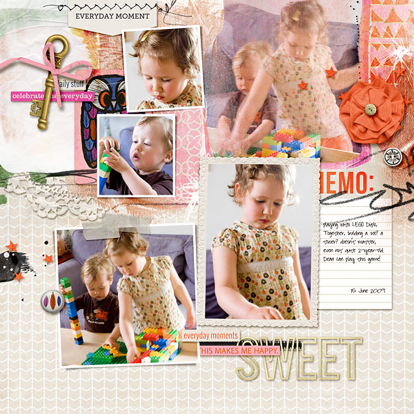 digital layout by amberr using life as we know it kit by sahlin studio and sugarplum paperie