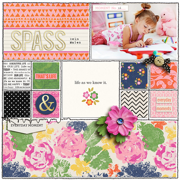 digital layout by sucali using life as we know it kit by sahlin studio and sugarplum paperie