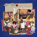 Disney Snow White scrapbooking layout by kristasahlin featuring Fairest One of All by Sahlin Studio