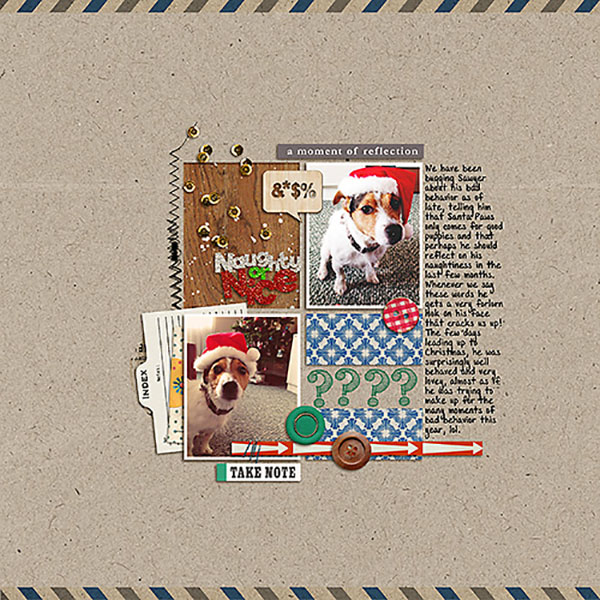 wonderful layout created by Heather Prins featuring A Wonderful Day by Sahlin Studio