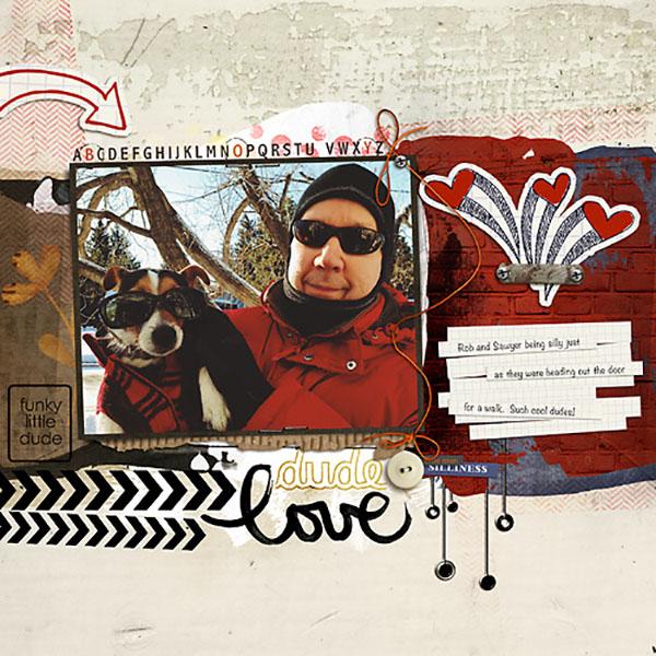 Digital scrapbook layout by HeatherPrins featuring Grunge by Sahlin Studio