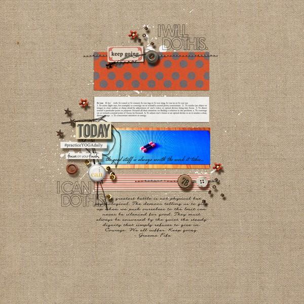 inspirational digital layout by margelz using Journal Starter: Motivational Word Art by Sahlin Studio