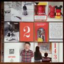 Project Life layout by kristasahlin using Pure Happiness by Sahlin Studio