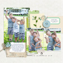 Summer Boys digital scrapbook page by kristasahlin, using Year of Templates 13 by Sahlin Studio