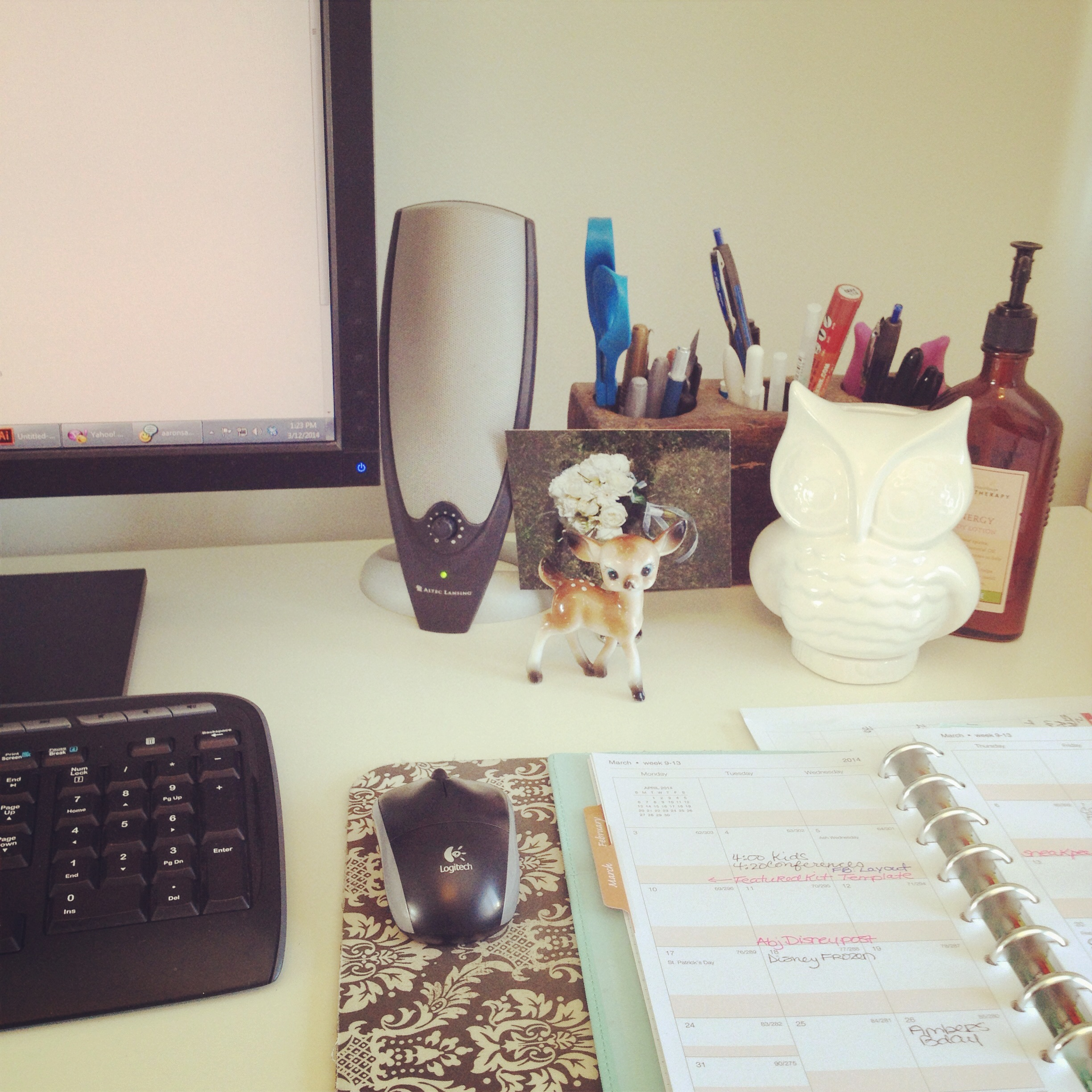 Workspace Wednesday - Sahlin Studio
