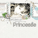 digital scrapbooking layout created by louso featuring down the lane by sahlin studio