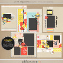 Pure Happiness (Layered Quickpages) by Sahlin Studio - Quick and Easy Pages!