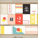 Pure Happiness (Journal & Filler Cards) by Sahlin Studio - Perfect for Project Life Albums!