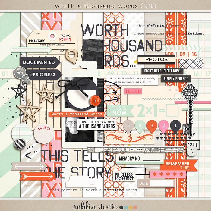 Worth a Thousand Words by Sahlin Studio