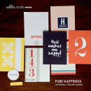 Pocket Scrapbooking Journal Cards for your Project Life album, Pure Happiness by Sahlin Studio
