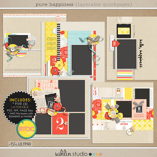 Create EASY layouts with Layered / Editable Quickpages - Pure Happiness