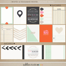 Worth A Thousand Words (Journal Cards) by Sahlin Studio