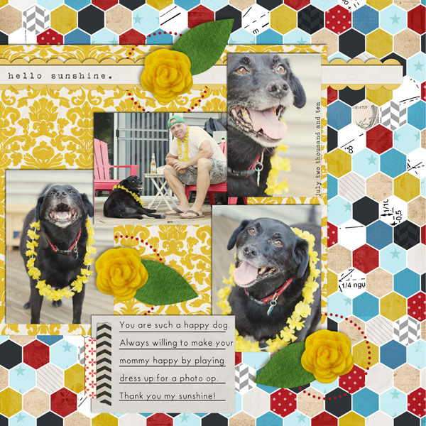 digital scrapbooking layout by cnscrap featuring Precocious by Sahlin Studio and Precocious Paper