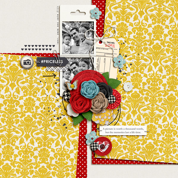 digital scrapbooking layout by dianeskie featuring Precocious by Sahlin Studio and Precocious Paper