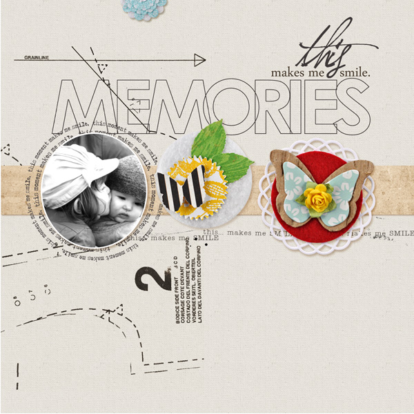 digital scrapbooking layout by MlleTerraMoka featuring Precocious by Sahlin Studio and Precocious Paper