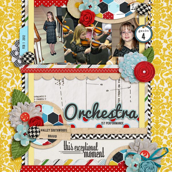 digital scrapbooking layout by norton94 featuring Precocious by Sahlin Studio and Precocious Paper