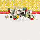 digital scrapbooking layout by TanyaH666 featuring Precocious by Sahlin Studio and Precocious Paper
