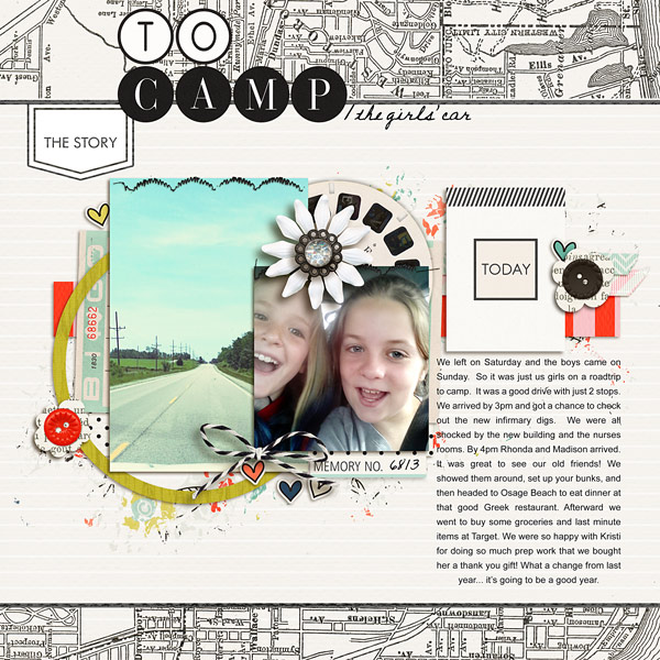 Digital scrapbook page created by norton94 featuring Melon Sorbet by Sahlin Studio