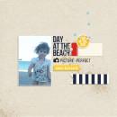 Beach Digital Scrapbook Page by MlleTerraMoka using Project Mouse (At Sea): Bundle by Britt-ish Designs & Sahlin Studio