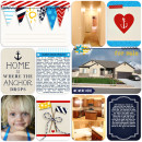 Home Digital Project Life page by camijo using Project Mouse (At Sea): Bundle by Britt-ish Designs & Sahlin Studio
