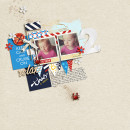 Relax Digital Scrapbook Page by gracielou using Project Mouse (At Sea): Bundle by Britt-ish Designs & Sahlin Studio