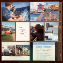Disney Cruise Project Life page by kristasahlin featuring Project Mouse (At Sea): Elements by Britt-ish Designs and Sahlin Studio