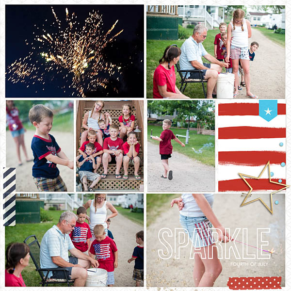 Summer Fouth 4th of July Project Life page by kristasahlin featuring Project Mouse (At Sea): Elements by Britt-ish Design Summer Fourth 4th of July Project Life page by kristasahlin featuring Project Mouse (At Sea): Elements by Britt-ish Designs and Sahlin Studios and Sahlin Studio