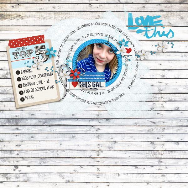 Top 5 Digital Scrapbook Page by norton94 using Project Mouse (At Sea): Bundle by Britt-ish Designs & Sahlin Studio