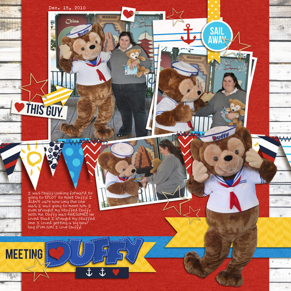 Duffy Digital Scrapbook Page by yzerbear19 using Project Mouse (At Sea): Bundle by Britt-ish Designs & Sahlin Studio