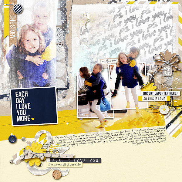 This Is Love by amberr using P.S. I Love You (Kit) by Sahlin Studio