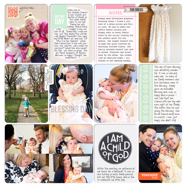 Digital Project Life Layout (R) by britt using Worth A Thousand Words by Sahlin Studio